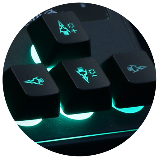 Enhancing the lighting effect. Comfortable to type and Easy to Clean